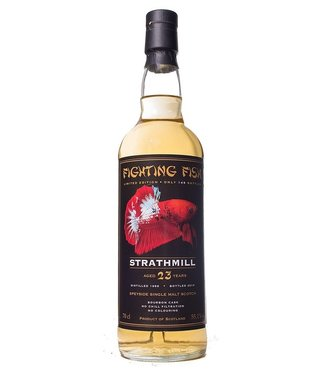 Strathmill Strathmill 23 Years Old 1996 Fighting Fish 0,70 ltr 55,1%