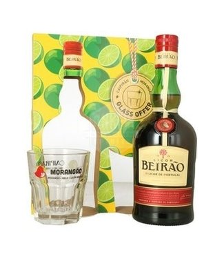 Beirao Beirao Giftpack Met Glas 0,70 ltr 22%