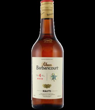 Barbancourt Barbancourt 4 Years Old 0,70 ltr 40%