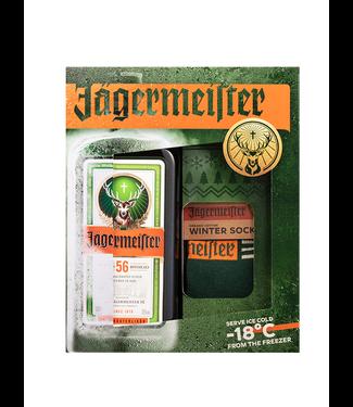 Jagermeister Jagermeister Giftpack Met Sokken 0,70 ltr 35%