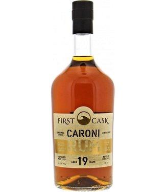 Caroni First Cask Caroni 19 Years Old 0,70 ltr 61,2%