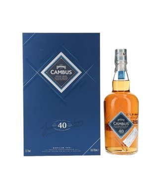 Cambus Cambus 40 Years Old 1975 Special Release 2016 0,70 ltr 52,7%