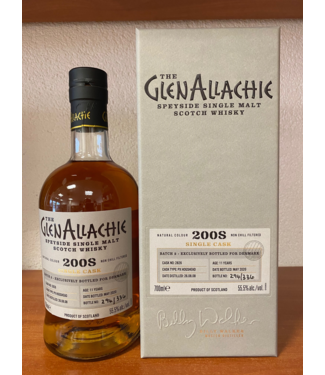Glenallachie Glenallachie 11 Years Old 2008 Cask 2826 0,70 ltr 55,5%