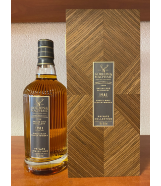 Dallas Dhu Dallas Dhu 38 Years Old 1981 Gordon & Macphail Private Collection 0,70 ltr 60,1%