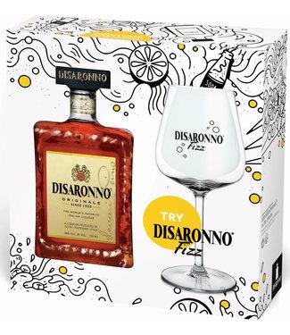 Di Saronno Di Saronno Giftpack Met Fizzglas 0,70 ltr 28%
