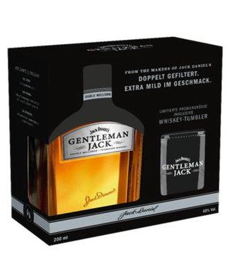 Jack Daniel's Jack Daniels Gentleman Jack Giftpack Met Glas 0,20 ltr 40%