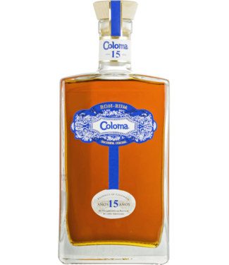 Coloma Rum Coloma 15 Years Old 0,70 ltr 40%