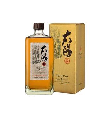 Teeda Japanese Rum Teeda 5 Years Old 0,70 ltr 40%
