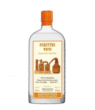 Velier Rum Velier WP Forsyths White Jamaican Single Rum 0,70 ltr 57%