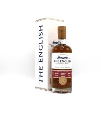 The English Whisky The English Small Batch 11 Years Old Cabernet Sauvignon 0,70 ltr 46%