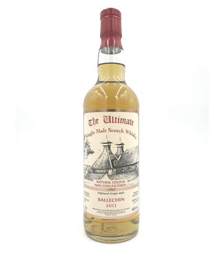 Ballechin Ballechin 10 Years Old 2011 The Ultimate Selection  Cask 272 0,70 ltr 46%