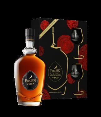 Frapin Frapin Cognac VSOP Giftset Met 2 Glazen 0,70 ltr 40%