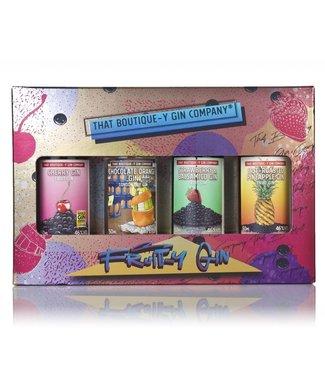 Boutique-y Boutique-y Fruit-y Gin Set 4 x 0.05 ltr 46%