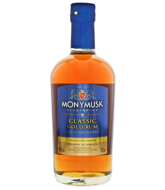 Monymusk Monymusk Plantation Classic Gold Rum 0,70 ltr 40%