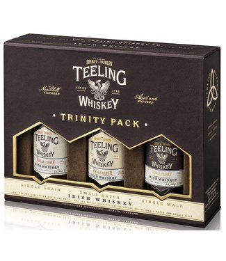Teeling Trinity Giftpack 3 x 0,05 ltr