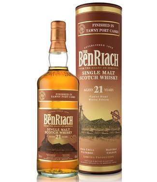 Benriach 21 Years Old Tawny Port Wood Finish
