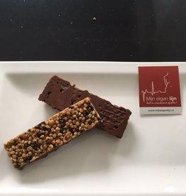 Chocolade Pinda maaltijd repen