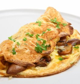 Omelet Champignons