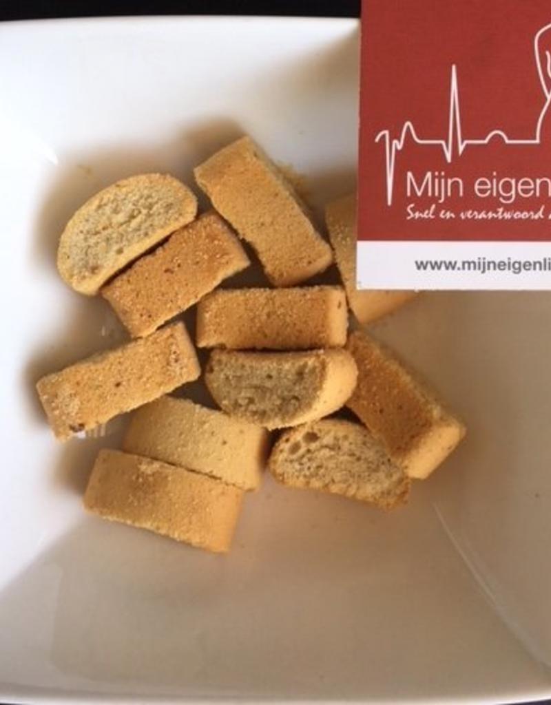 Amandel crunch koekjes