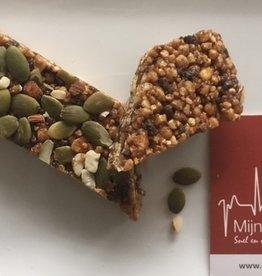 Vegan reep met noten en zaden