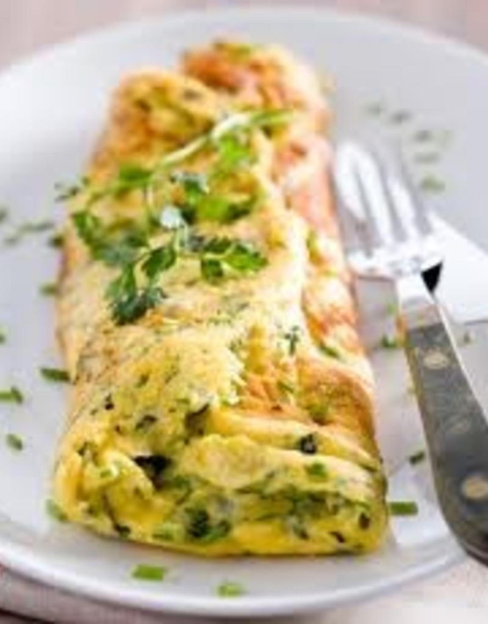 Omelet gemengde kruiden