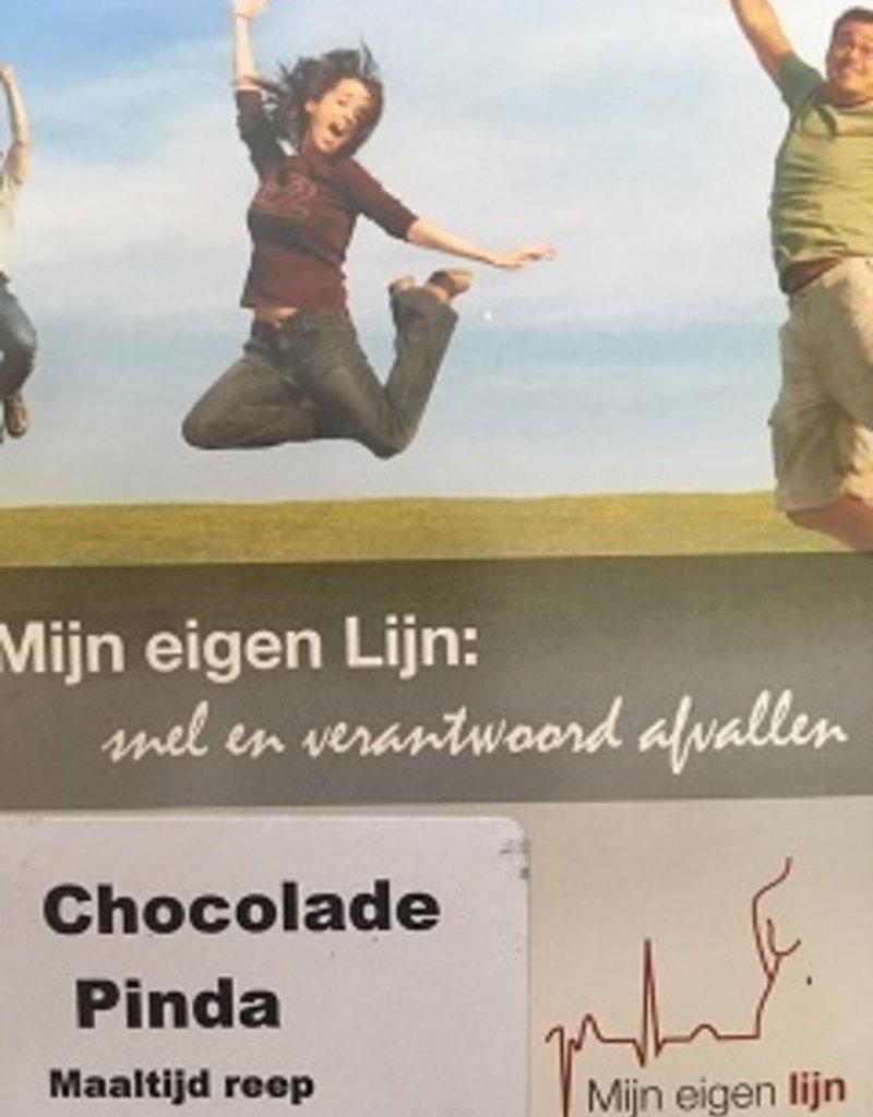 Maaltijd repen Chocolade pindanootjes