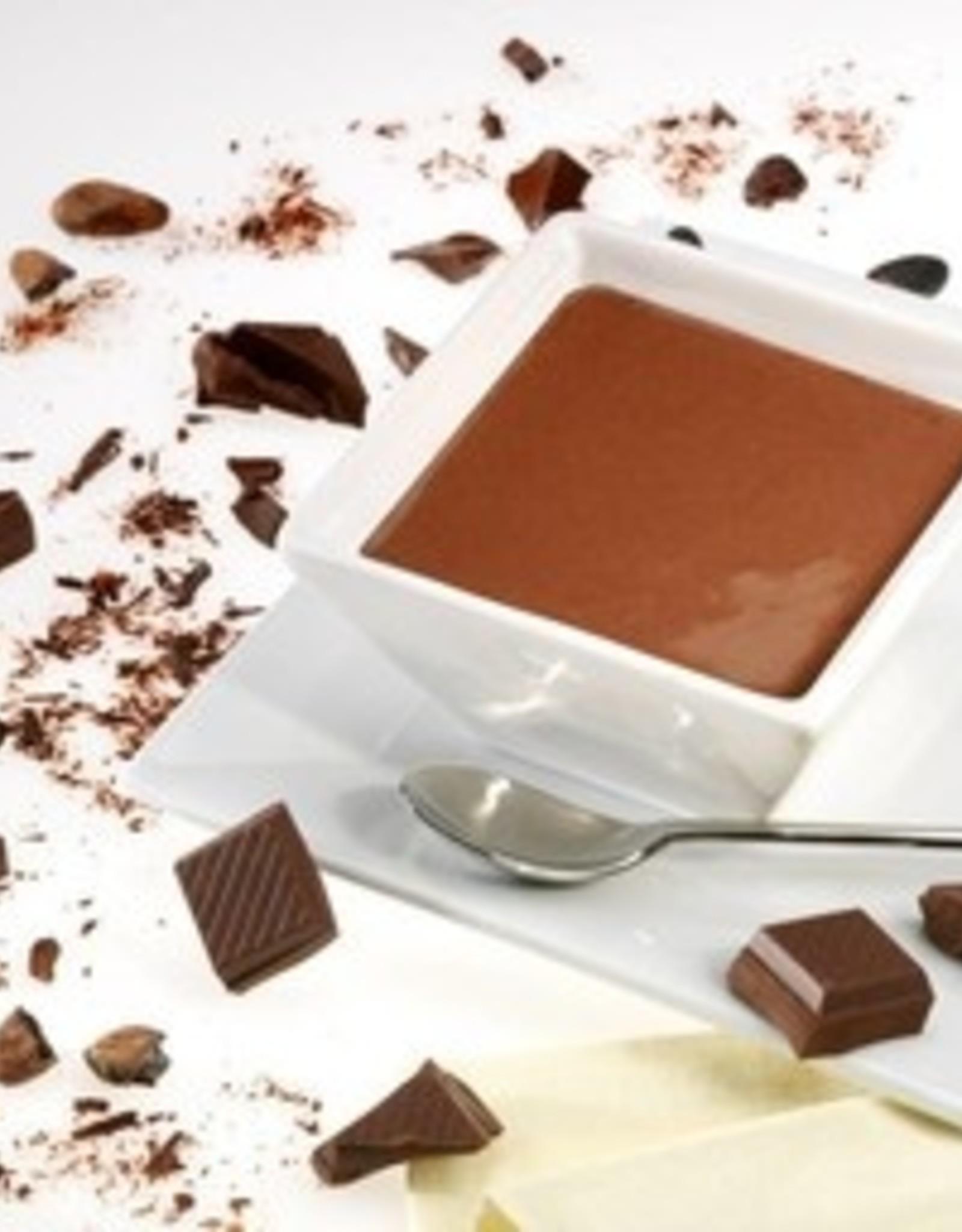 Chocolade puur dessert