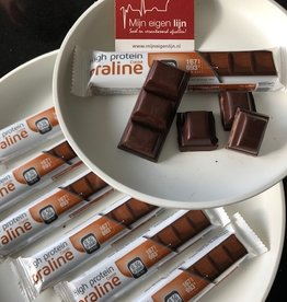 Chocolade Praline Hazelnoot repen LOW CARB