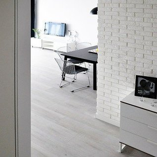 Parma White hoekstrips (doos 0,9 m1 / 0,25 m2)