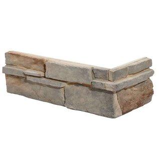 Averno Beige hoekstrips (doos 0,58 m1 / 0,32 m2)