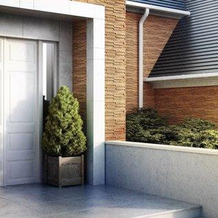 Toronto Brown hoekstrips (doos 0,84 m1 / 0,35 m2)
