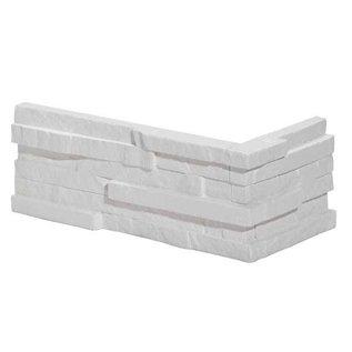 Honey White hoekstrips (doos 1,47 m1 / 0,45 m2)