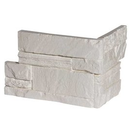 Mayon White hoekstrips