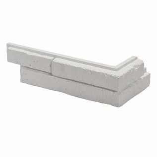 Metro White hoekstrips (doos  1 m1 / 0,5 m2)
