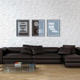 Toronto White hoekstrips (doos 0,84 m1 / 0,35 m2)