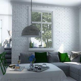 Loft White hoekstrips (doos 1,17 m1 / 0,27 m2)