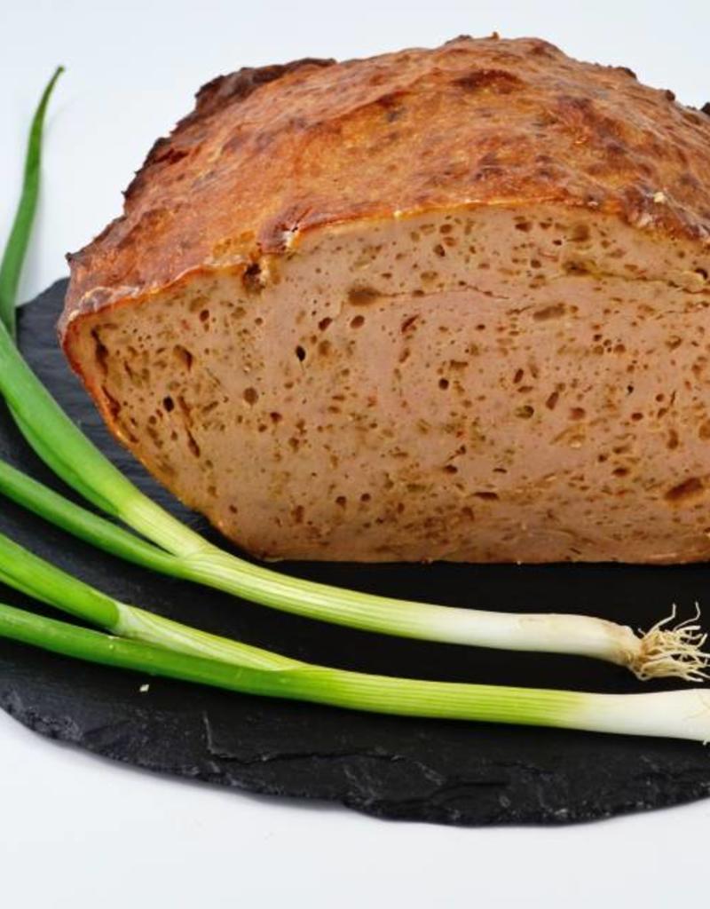 Fleischkäse mit Röstzwiebeln 1 kg