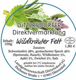 Dittersdorfer Wildkräuterfett 100g