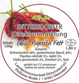 Dittersdorfer Chili-Paprika-Fett 100g