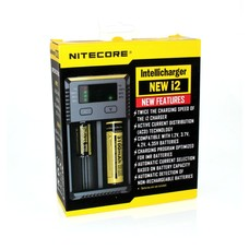 Nitecore 18650 Li-ion batterijlader new i2