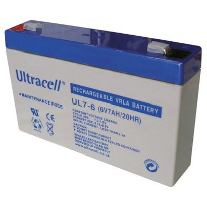 Ultracell loodaccu 6V 7 Ah UL7-6