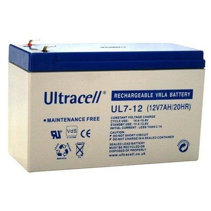 Ultracell Loodaccu 12V 7 Ah UL7-12
