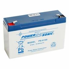 Powersonic Loodaccu 6V 10 Ah PS-6100 F1