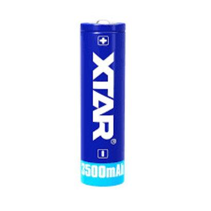 XTAR 18650 Li-ion oplaadbare batterij 3,6V 3500 mAh protected