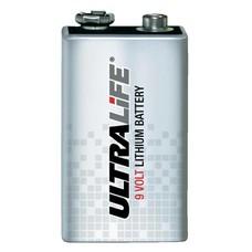Ultralife 9V lithium U9VL-J AED batterij