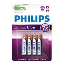 Philips lithium AAA batterijen