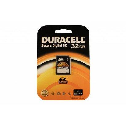 Duracell SDHC kaart 32GB class 4