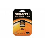 Duracell SDHC kaart 8GB class 4