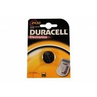 Duracell CR2430 lithium knoopcel batterij