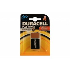 Duracell plus power alkaline 9V blok batterij